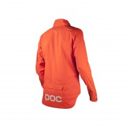 Essential Rain Jacket Zink Orange (Front)