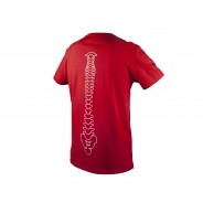 Spine Tee Bohrium Red (Back)